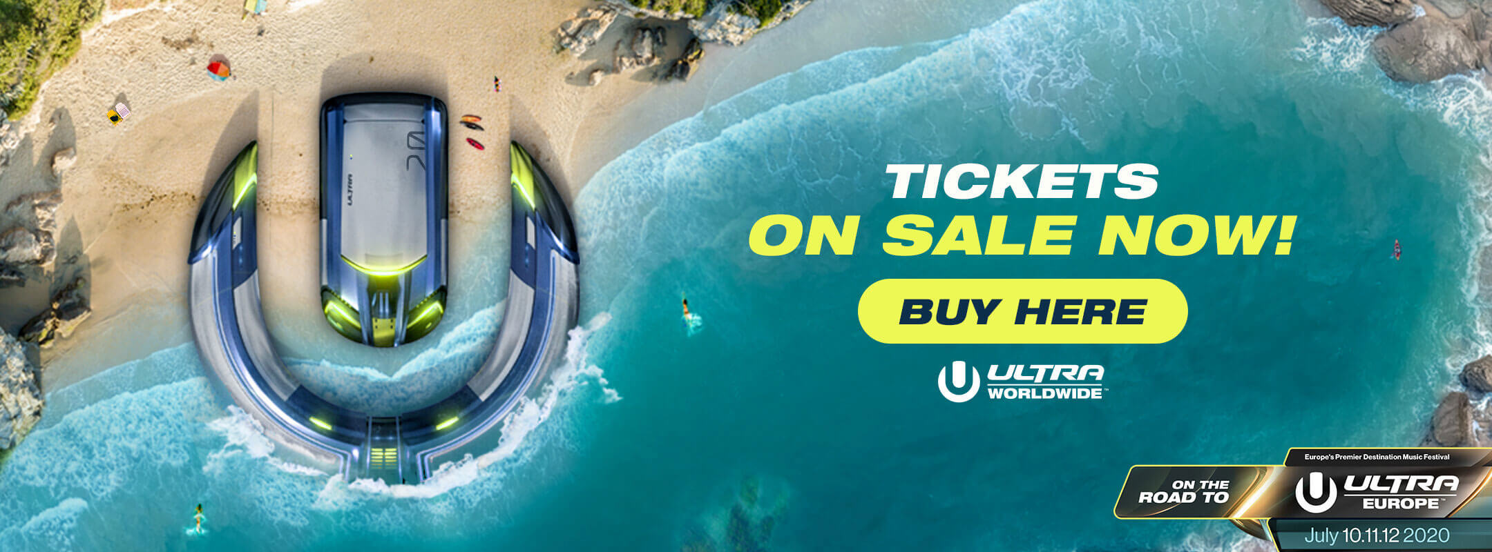 Buy Tickets for Ultra Beach Costa del Sol