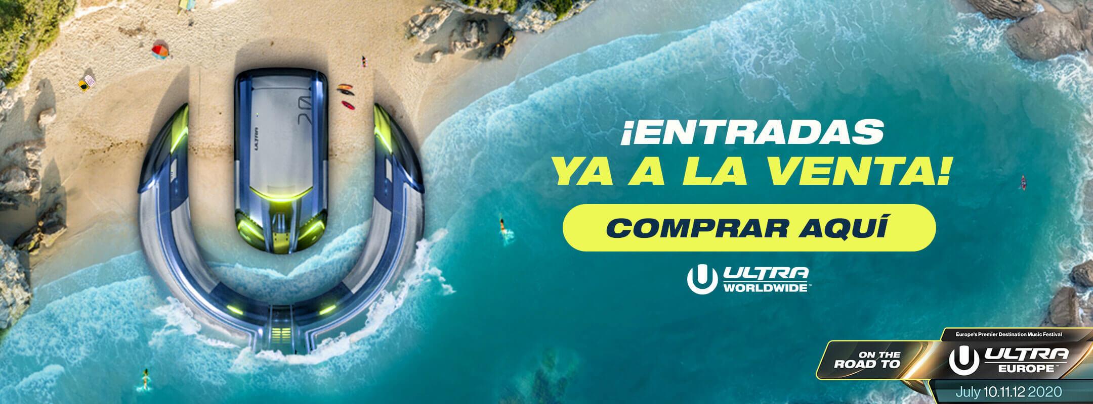 ¡Compra las entradas para Ultra Beach Costa del Sol 2020!